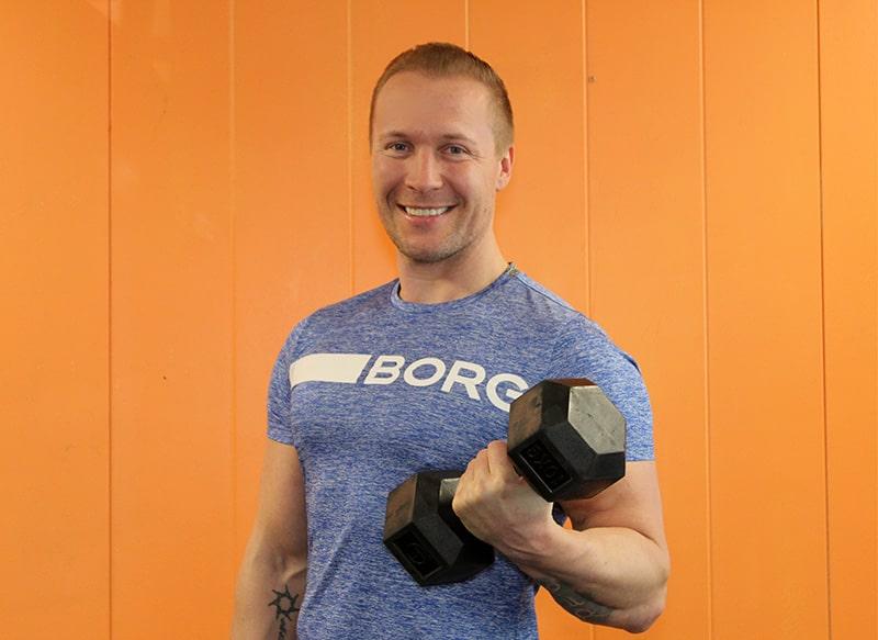 Personal trainer Keravalla, Jesper Nyberg